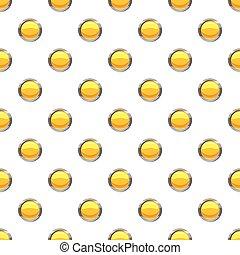 Yellow button pattern