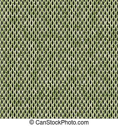 Yellow camouflage seamless wire mesh texture