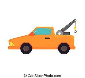 car towing truck