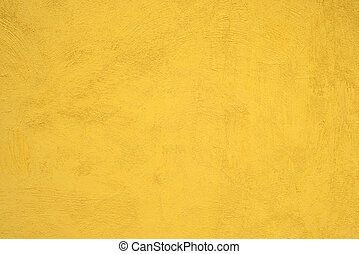 Yellow Cement Wall