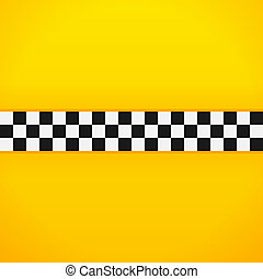 Yellow Checkerboard Pattern