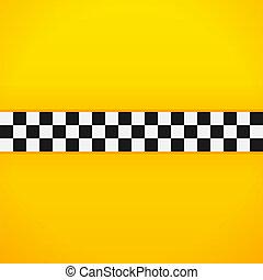 Yellow Checkerboard Pattern