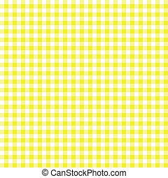 Yellow checkered background