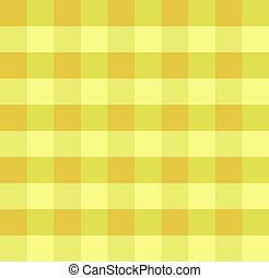 Yellow checkered cloth - Sample pretty seamless bright...