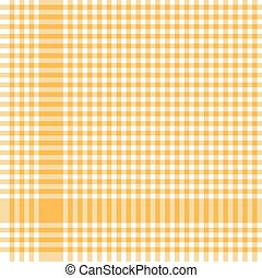 yellow checkered table cloth pattern - yellow colored ...