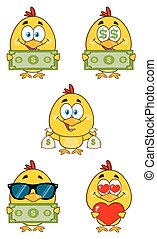 Yellow Chick Collection 6