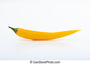 chili pepper on a white background