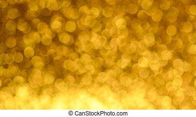 Yellow Christmas or New Year background - Golden Christmas ...