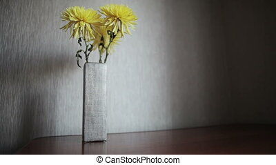 Yellow chrysanthemum