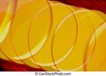 yellow, circle, group