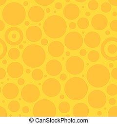 Yellow Circle Pattern