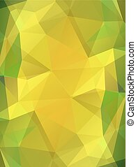 Yellow color glass abstract background
