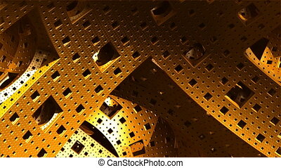 yellow complex structures