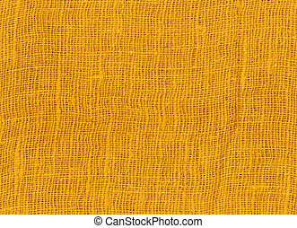 Yellow cotton texture background.