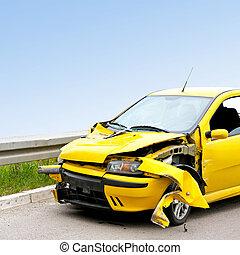 Yellow crash