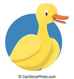 Yellow duck icon app