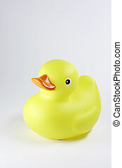 yellow duck with red beak 02 - yellow duck with red beak on...