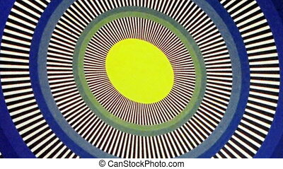 Yellow Egg Sun Oval Optical