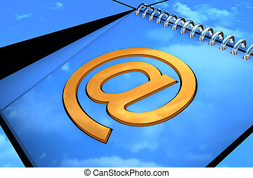 Yellow email