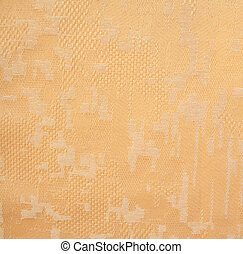 Yellow fabric as background