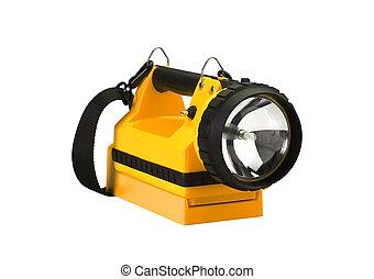 yellow Flash Light