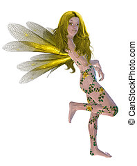 Yellow Flower Fairy
