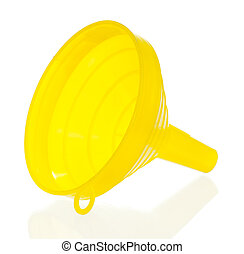 Yellow funnel