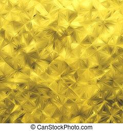Yellow glitter background. EPS 8