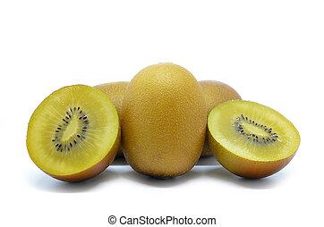 Yellow gold kiwi fruit