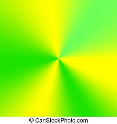 Yellow-green conical gradient - Colorful conical gradient...