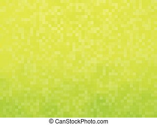 yellow green mosaic background