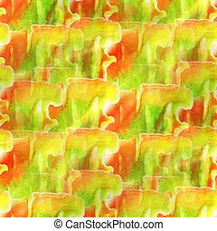 yellow, green, red background texture watercolor seamless abstract pattern paint art wallpaper color paper