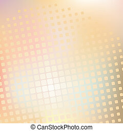 Yellow halftone pattern