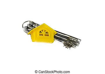 Yellow home and Keys