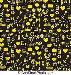 yellow icons