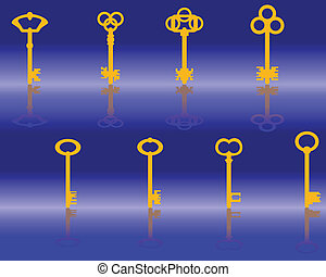 Yellow keys
