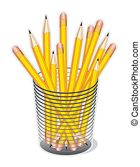 Yellow Lead Pencils