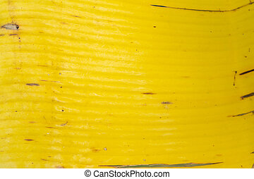 yellow leaf of a banana tree. Leaf texture