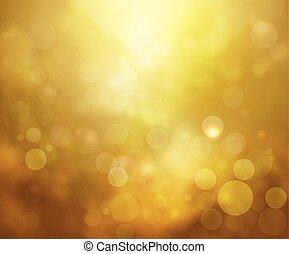 Yellow lights background