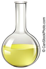 Yellow liquid in test tube