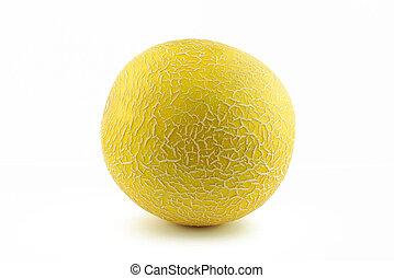 Yellow melon cantaloupe