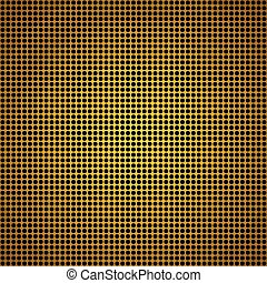 Yellow metal texture stainless steel background