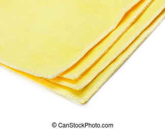 yellow microfiber duster