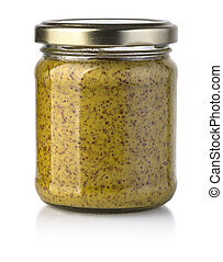 yellow mustard bottle