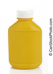 Yellow Mustard Bottle
