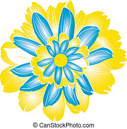 Yellow Natural Flower for Pattern D