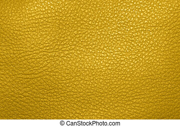 Yellow natural pigskin texture.