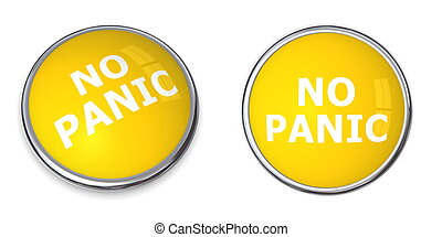 Yellow No Panic Button