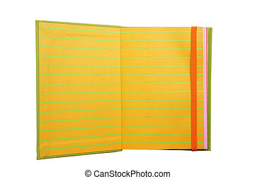 Yellow notebook paper