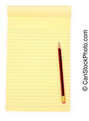 Yellow notepaper